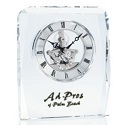 Crystal Clock, beautiful time piece to recognize great achievements.