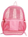 Mesh backpacks. available in pink, forest green, navy blue, red, royal blue or yellow and black