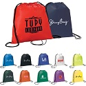 Low cost drawstring backpacks