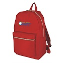 Solid school backpacks in Black, Red, Navy Blue