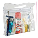 Clear bag for airline carry on