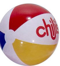 Custom Printed Promotional Beach Balls