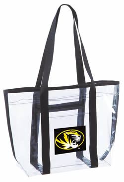 Clear Open Top Totes  Custom Printed Clear totes