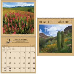 Custom Printed Promotional Calendars, Beautiful America