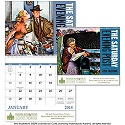 Saturday Evening Post Custom Printed Promotional Calendars.