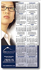 Custom Printed Promotional Calendar Magnets