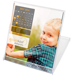 CD-Case Custom Printed Promotional Calendars