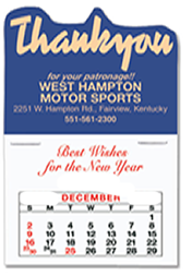 Stick Up Custom Printed Promotional Calendars