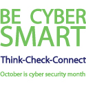 Custom printed Cyber Security Awareness Month Promo Items.