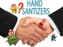Hand Sanitizers. Perfect for fighting germs on the go.