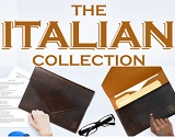 Fine Italian Leather for Business