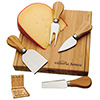 Custom Imprinted Bamboo Cheese Set