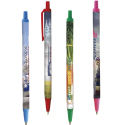 BIC click stick with four color process