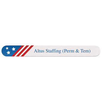 Custom Printed Political Emery Boards Nail File
