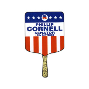 Custom Printed Political Hand Fans