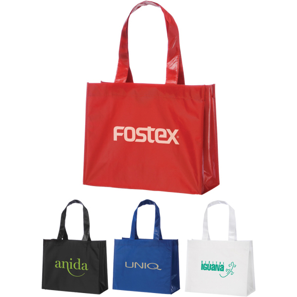 5924e9a91 Custom printed totes, laminated grocery bags, briefcases and backpacks