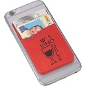 Custom Printed Cell Phone Silcone Wallets