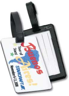 Custom 3D Luggage Tag